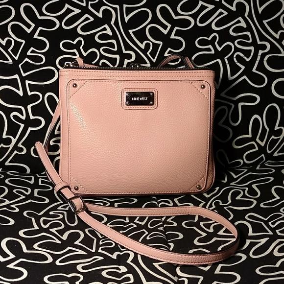 f2871154519c Nine West Bags | Pink Jaya Crossbody Designer Bag | Poshmark